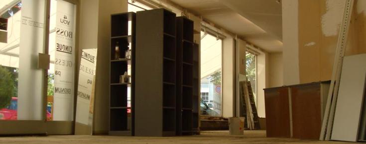 Umbau Ladenlokal 2007